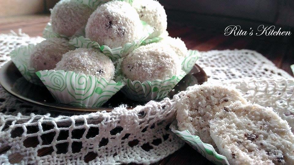 tartufini al cocco
