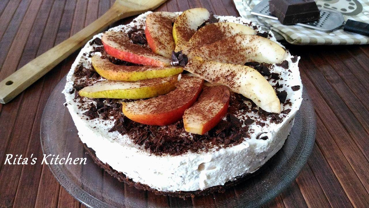 torta fredda di ricotta