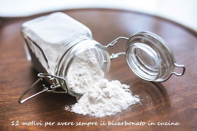 il bicarbonato in cucina