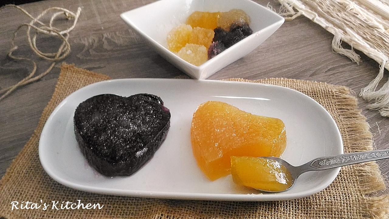 gelatine alla frutta