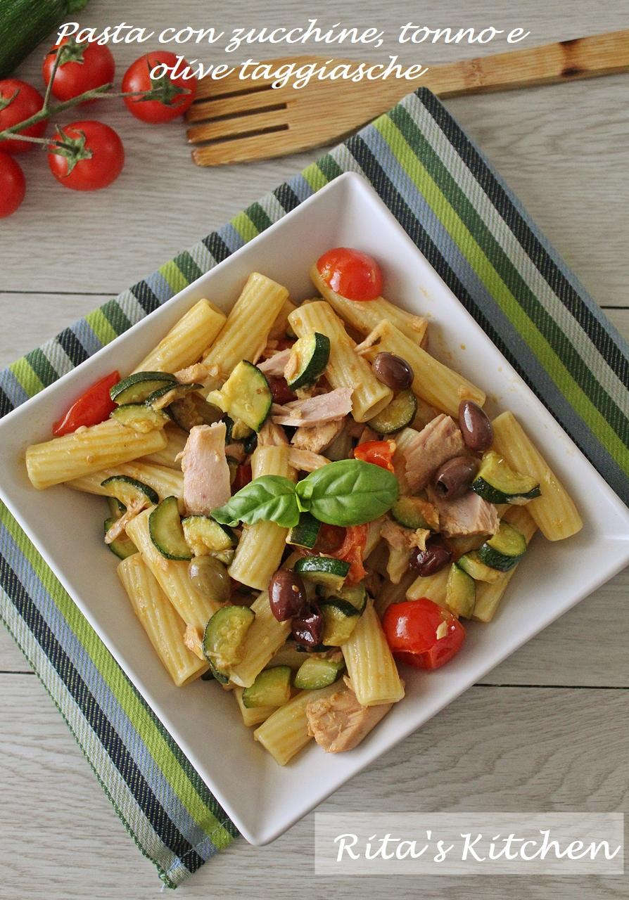 pasta con zucchine tonno