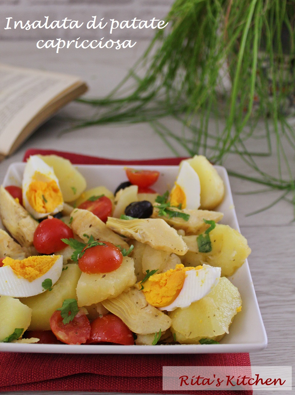 insalata di patate capricciosa
