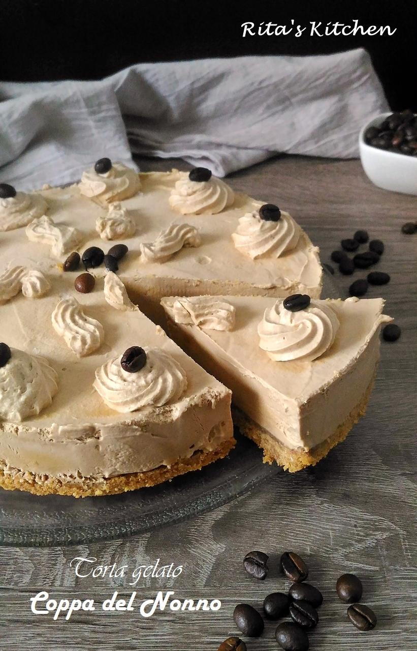 torta gelato Coppa del nonno