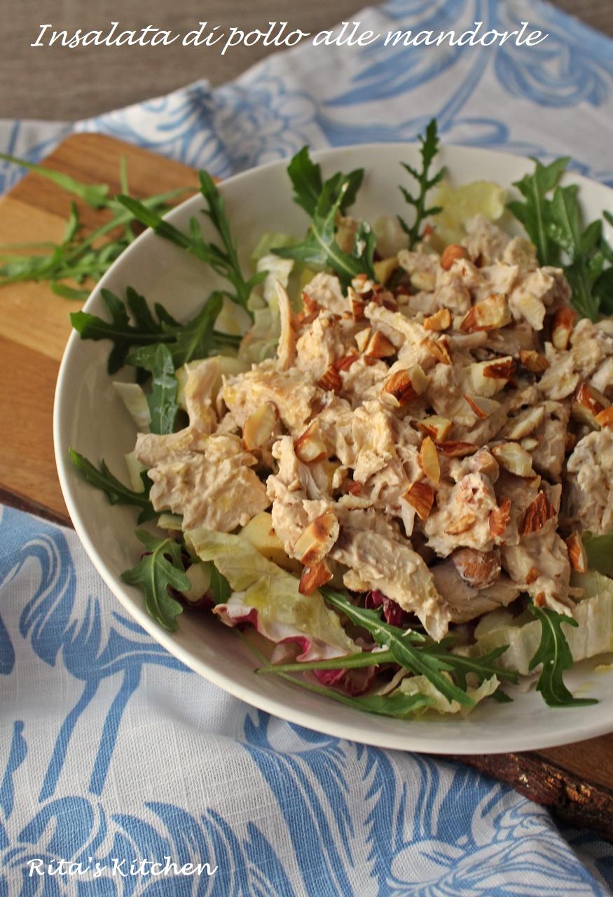 insalata di pollo alle mandorle