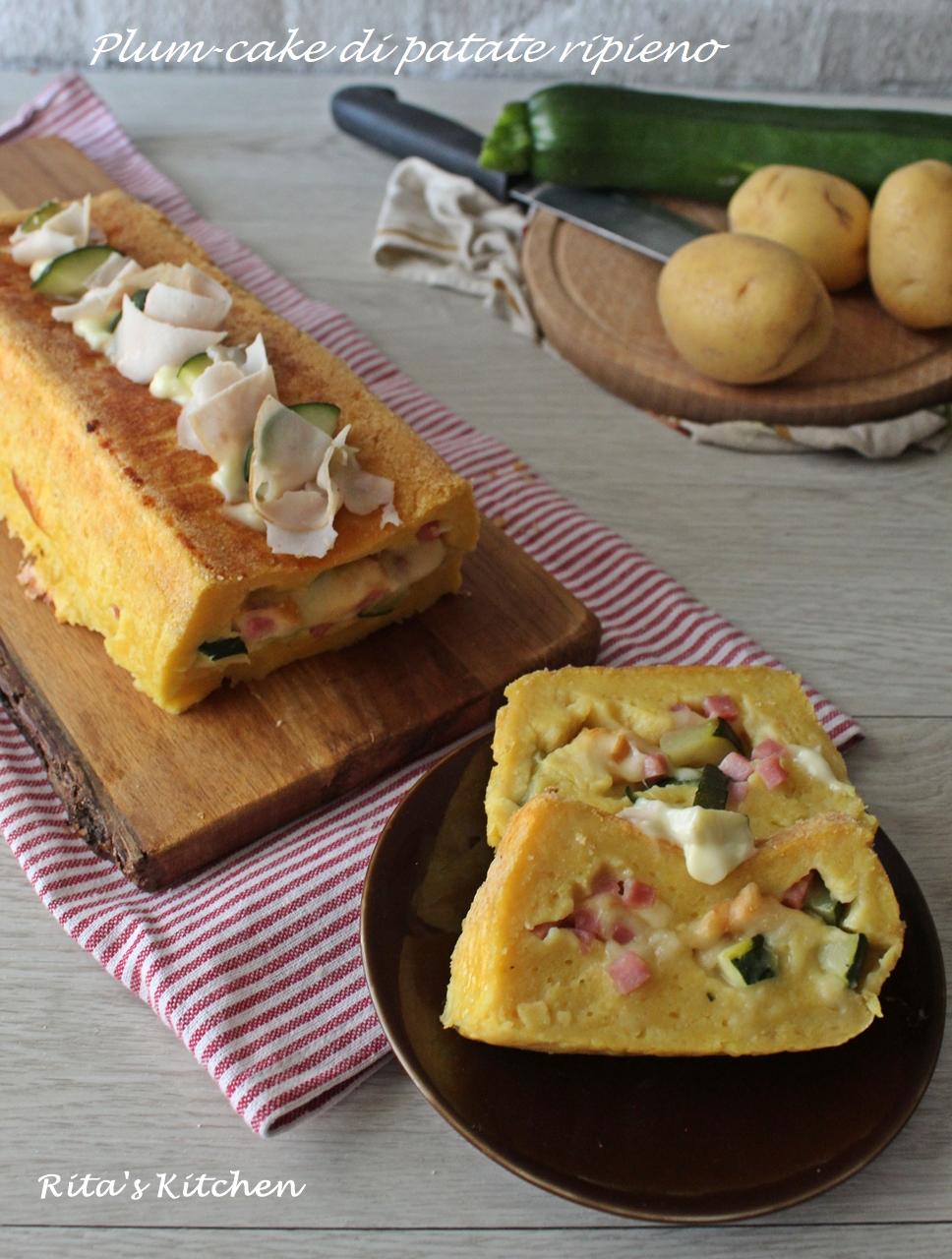 plum-cake di patate