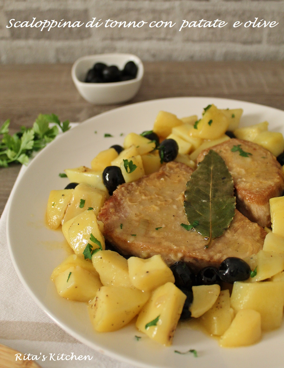 scaloppine di tonno