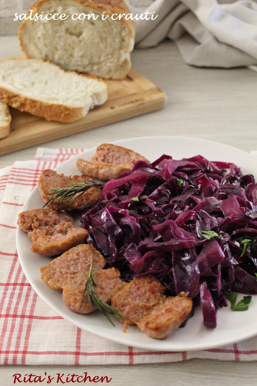 salsicce con i crauti