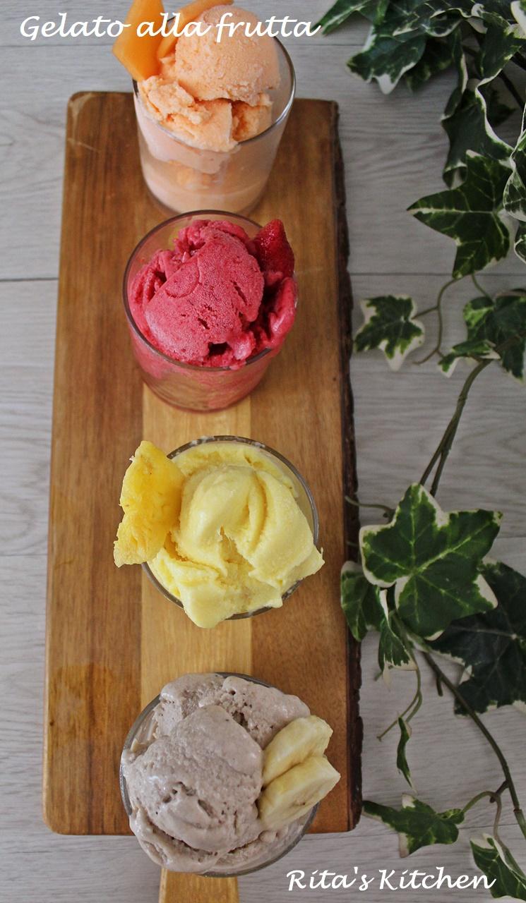 gelato alla frutta senza gelatiera