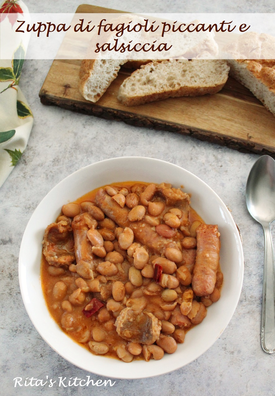 zuppa di fagioli piccanti